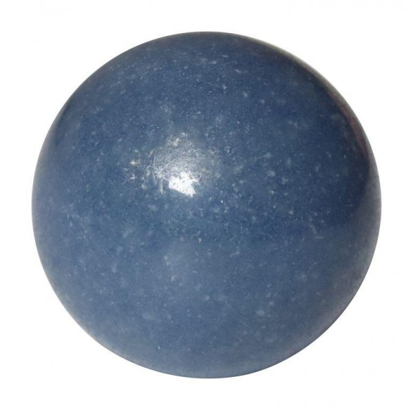 "Massagekugel Blauquarz ""Gelassenheit"""